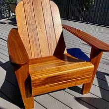 Adirondack Chair - Woodworking Project by Wade Pennell