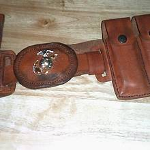 Gun belt and holster - Leatherworking Project by papadan