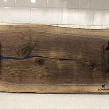 Walnut serving tray - Woodworking Project by GoodmanDesigns