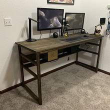 Custom Desk with Drafting Table - Woodworking Project by 1stDimensionwood