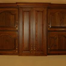 Oak Laundry Cabinets - Woodworking Project by Lightweightladylefty