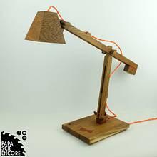 A simple oak Lamp - Woodworking Project by Aurélien