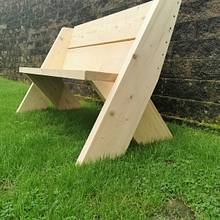 Outside bench - Woodworking Project by UnionJwooddesign