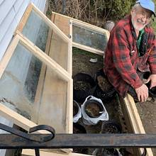 Cold Frame - Woodworking Project by MsDebbieP