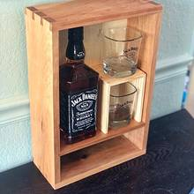 Cherry Whiskey Cabinet - Woodworking Project by Eric Bangerter