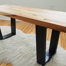 Reclaimed Wood Bench - Woodworking Project by Marie from DIY Montreal