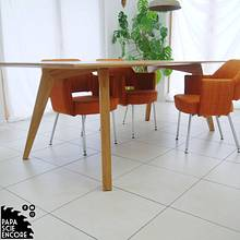 Oak design Dining table - Woodworking Project by Aurélien