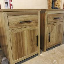 Hickory Nightstands - Woodworking Project by Fiftyfoursouth