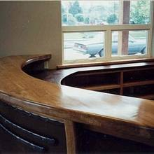 Dental clinic reception desk - Woodworking Project by WestCoast Arts