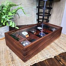 Watch Display Box (Walnut and Bubinga) - Woodworking Project by SmokeAndSand