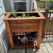 Planter Box - Woodworking Project by Marc