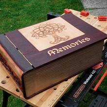 Book Box - Woodworking Project by Celticscroller