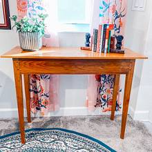 Cherry Shaker Entry Table - Woodworking Project by MattL