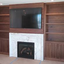 Built-in Wall unit - Woodworking Project by Bentlyj