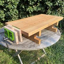 Table Top Workbench  - Woodworking Project by wrtsprt