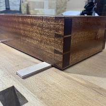 Dovetailed jewellery box - Woodworking Project by BeardandWood