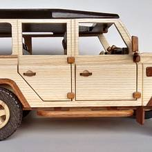 SUV 4x4 - Woodworking Project by Dutchy