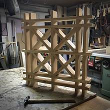 Deck screen - Woodworking Project by Narinder Jugdev