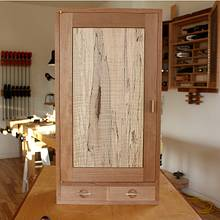 Wall Cabinet - Woodworking Project by Norman Pirollo