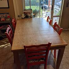 Cherry Dining Table - Woodworking Project by TJ512