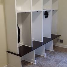 lockers - Woodworking Project by travk72