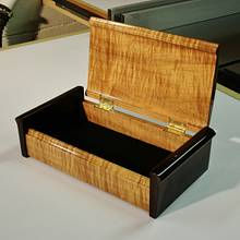 Curved Lid Treasure Box - Woodworking Project by kdc68