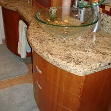 Bathroom cabinets  (Curves) - Woodworking Project by Madts