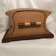 Bandsaw Box with Tray and Hidden Drawer in Case - Woodworking Project by Whittler1950
