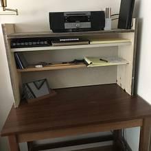 writing desk organizer shelf, prototype - Woodworking Project by Scott