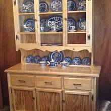 China hutch - Woodworking Project by jim webster