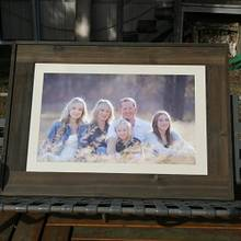 Large Picture Frame - Woodworking Project by Railway Junk Creations
