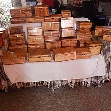 Jewelery/trinket boxes for Xmas presents - Woodworking Project by Francis Miles