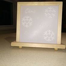 3D printed light box - Woodworking Project by Galvipa