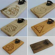 Bottle Openers with CNC'd carvings - Woodworking Project by David E.