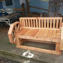 out side bench - Woodworking Project by allen newman