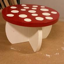 Mushroom planter stand - Woodworking Project by Brian