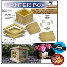 Patio planter box - Woodworking Project by CNC Craze