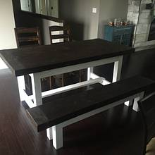 Farmhouse Style Table - Woodworking Project by Michael Ray