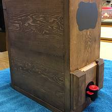 Wooden Wine Box - Woodworking Project by Rosebud613