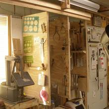 Layout Tool Racks/Storage - Woodworking Project by Kelly