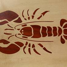 Lobster Cutting Board - Woodworking Project by Roger Gaborski