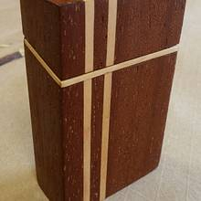 Cigarette box - Woodworking Project by Brian