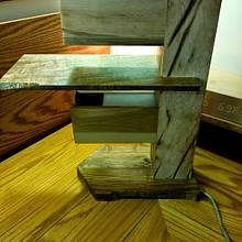 Pallet wood lamp - Woodworking Project by Brian