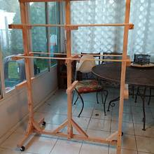 Sausage drying rack - Woodworking Project by Brian