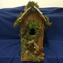 Bird houses and drift wood candle holders - Woodworking Project by Sheri Noble, woodworking at it's finest!