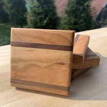 Hardwood Coasters - Woodworking Project by Kayden