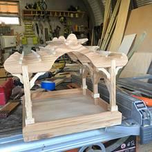 Pergola birdfeeder - Woodworking Project by Angelo