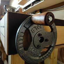 HANDWHEEL FOR MY NEW VISE - Woodworking Project by kiefer