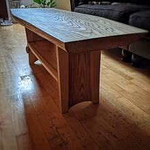 Coffee table ashwood - Woodworking Project by René Pittner