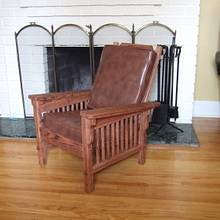 Jr. Sized Morris Chair  - Woodworking Project by Mitch Breault